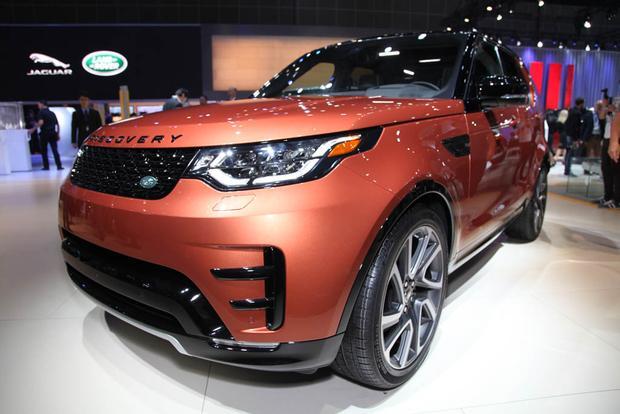 2017 Land Rover Discovery: LA Auto Show