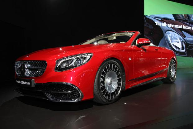 2017 Mercedes Maybach S650 Cabriolet And More La Auto Show