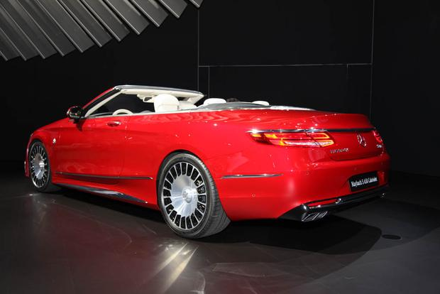 2017 Mercedes-Maybach S650 Cabriolet (And More!): LA Auto Show featured image large thumb3