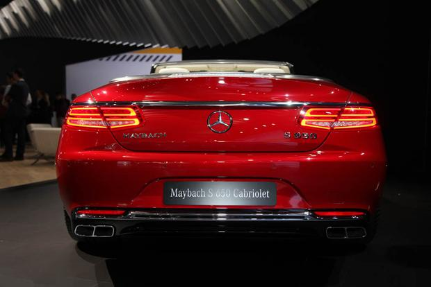 2017 Mercedes-Maybach S650 Cabriolet (And More!): LA Auto Show featured image large thumb4
