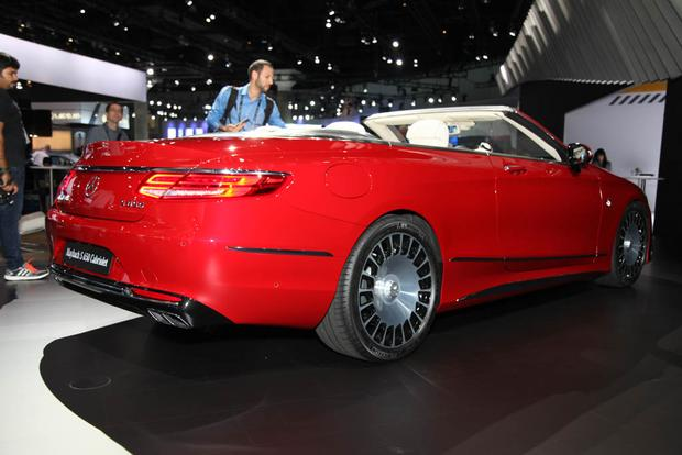 2017 Mercedes-Maybach S650 Cabriolet (And More!): LA Auto Show featured image large thumb5