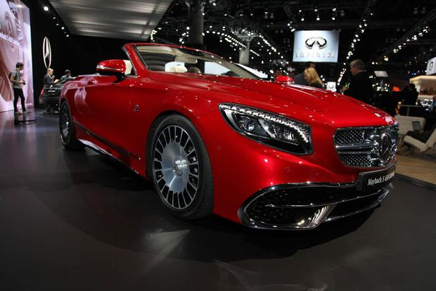 2017 Mercedes-Maybach S650 Cabriolet (And More!): LA Auto Show featured image large thumb6