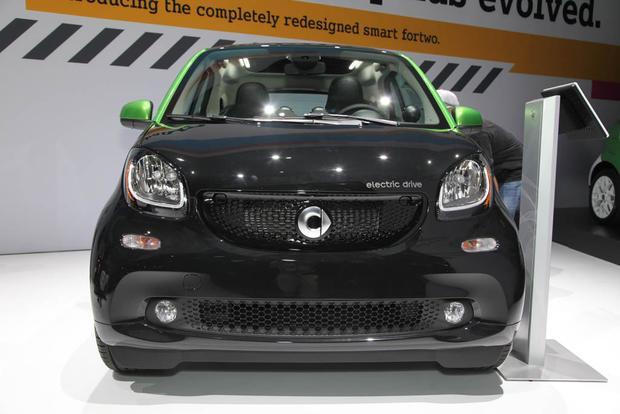 2017 smart fortwo Electric Drive: LA Auto Show