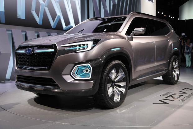 Subaru VIZIV-7 Concept: LA Auto Show