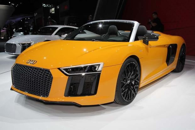 2017 Audi R8 Spyder: New York Auto Show featured image large thumb1
