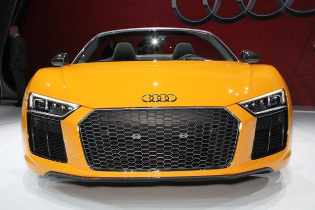 2017 Audi R8 Spyder: New York Auto Show featured image large thumb0
