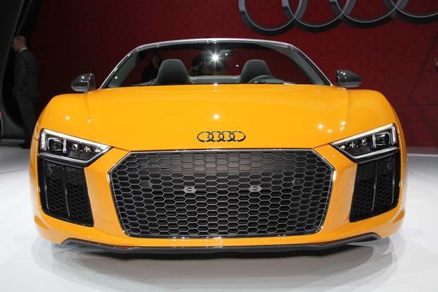 2017 Audi R8 Spyder: New York Auto Show