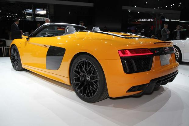 2017 Audi R8 Spyder: New York Auto Show featured image large thumb3