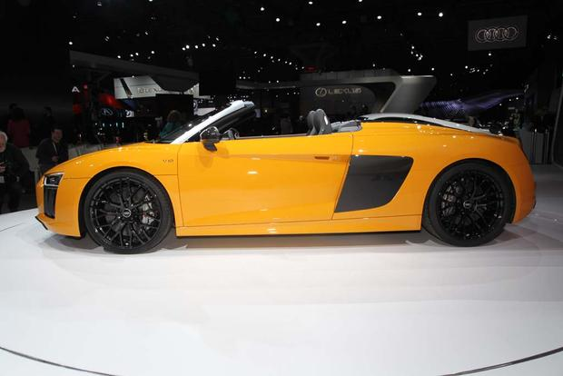 2017 Audi R8 Spyder: New York Auto Show featured image large thumb2