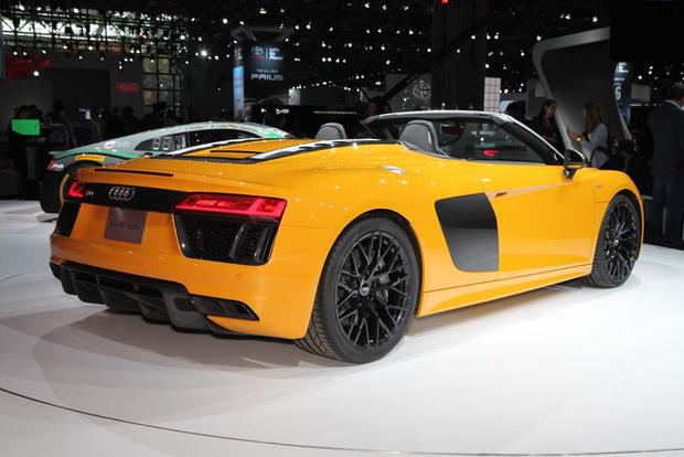2017 Audi R8 Spyder: New York Auto Show featured image large thumb5