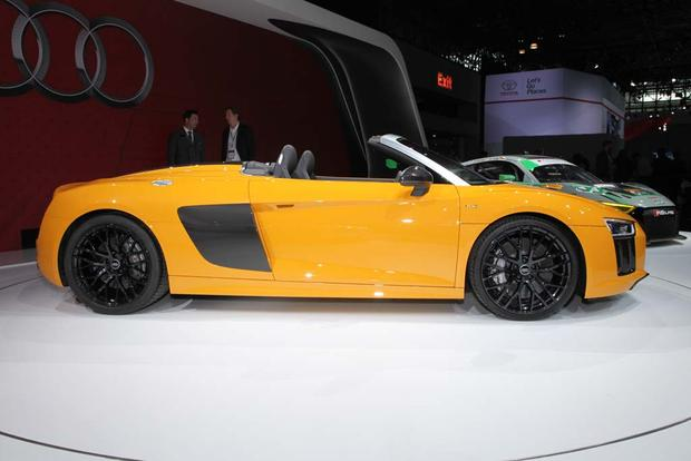 2017 Audi R8 Spyder: New York Auto Show featured image large thumb6