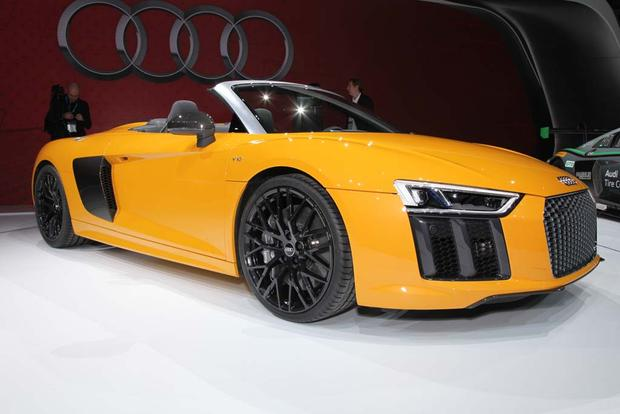 2017 Audi R8 Spyder: New York Auto Show featured image large thumb7