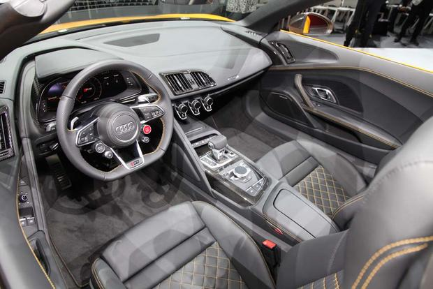 2017 Audi R8 Spyder: New York Auto Show featured image large thumb11