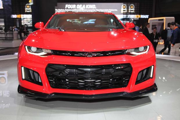 2017 Chevrolet Camaro ZL1: New York Auto Show