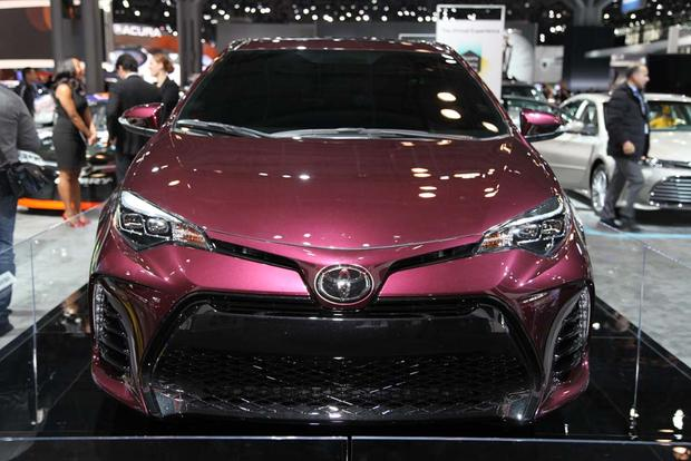 2017 Toyota Corolla Black Cherry