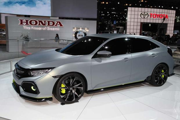 2017 Honda Civic Hatchback Prototype: New York Auto Show