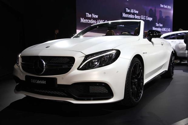 2017 Mercedes-AMG C63 Cabriolet: New York Auto Show