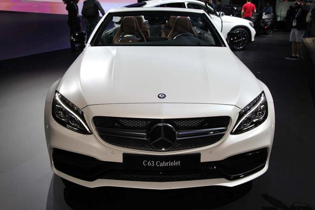 2017 Mercedes-AMG C63 Cabriolet: New York Auto Show featured image large thumb2