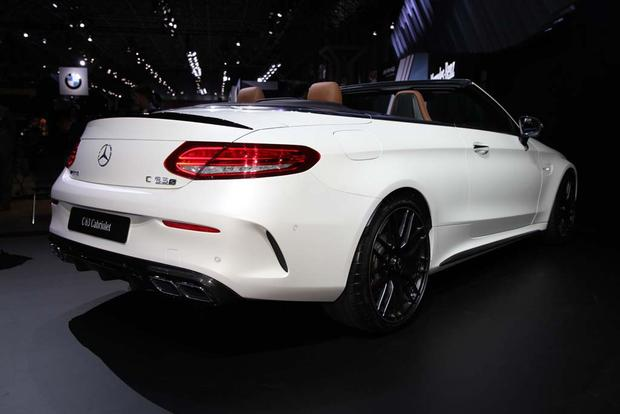 2017 Mercedes-AMG C63 Cabriolet: New York Auto Show featured image large thumb4