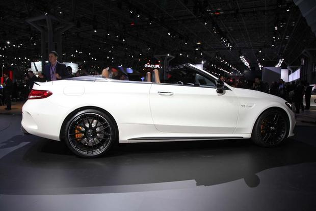 2017 Mercedes-AMG C63 Cabriolet: New York Auto Show featured image large thumb3