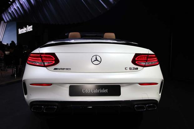 2017 Mercedes-AMG C63 Cabriolet: New York Auto Show featured image large thumb5