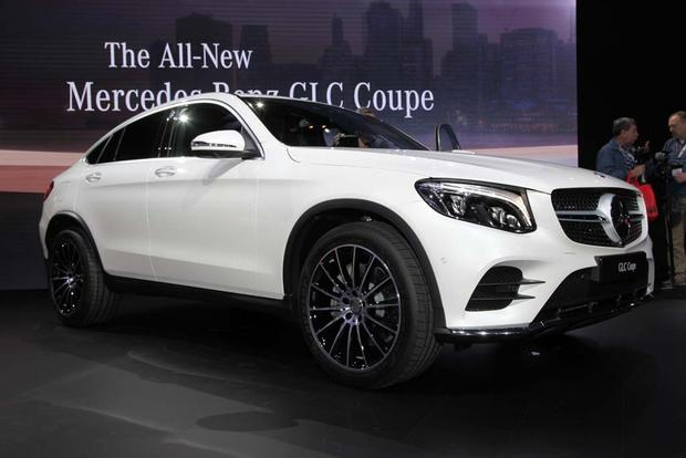 2017 mercedes benz glc class coupe new york auto show. Black Bedroom Furniture Sets. Home Design Ideas