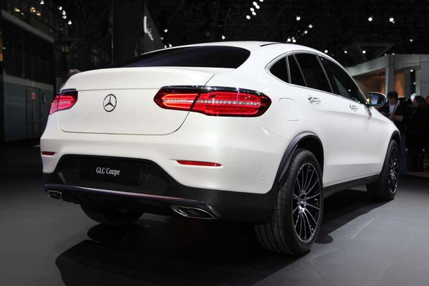 2017 Mercedes-Benz GLC-Class Coupe: New York Auto Show featured image large thumb2