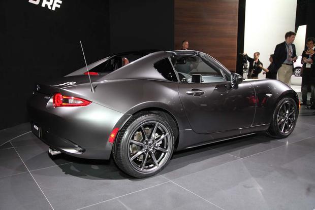 2017 Mazda MX-5 Miata RF: New York Auto Show - Autotrader