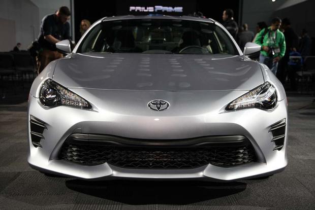 2017 Toyota 86: New York Auto Show