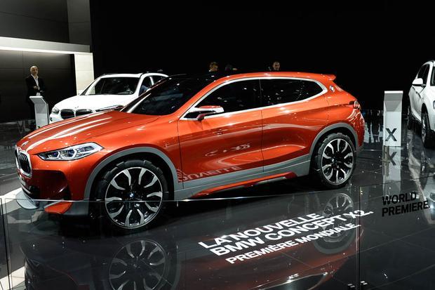 BMW X2 Concept: Paris Auto Show