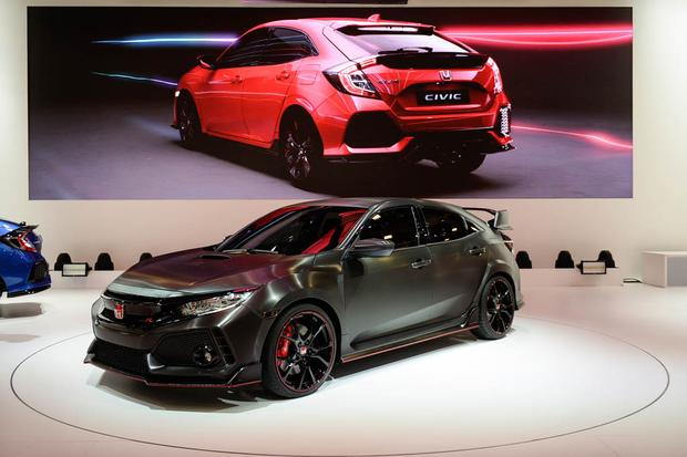 Honda Civic Type R: Paris Auto Show