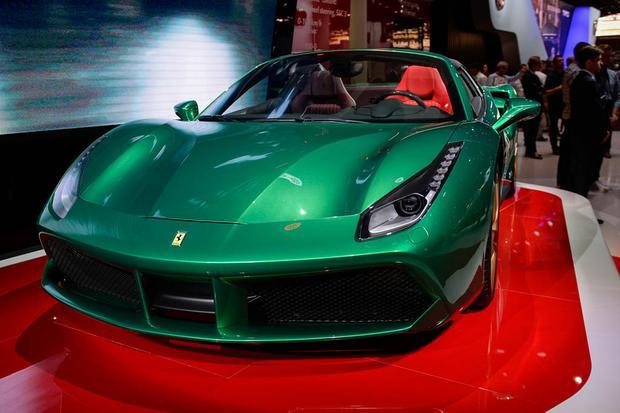 LaFerrari Aperta: Paris Auto Show