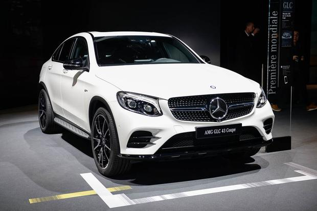 Mercedes-AMG GT Roadster and GLC43 Coupe: Paris Auto Show