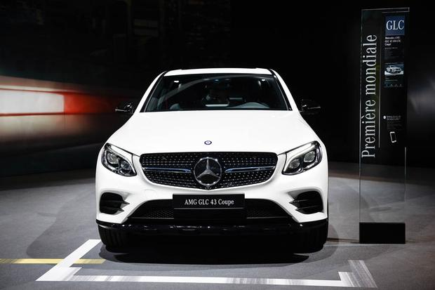 Mercedes-AMG GT Roadster and GLC43 Coupe: Paris Auto Show featured image large thumb1