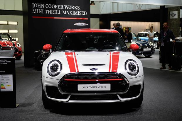 2017 Mini Clubman John Cooper Works Paris Auto Show Autotrader