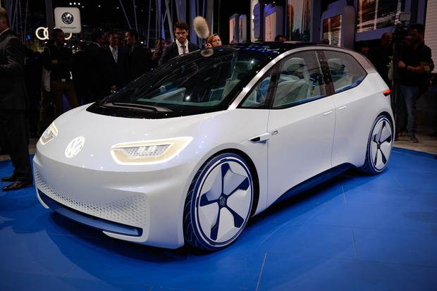 Volkswagen I.D. Electric Concept Car: Paris Auto Show