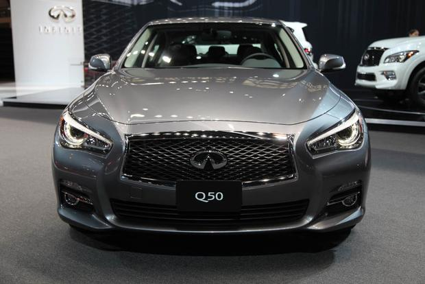 2017 Infiniti Q50 and QX80 Signature Editions: Chicago Auto Show
