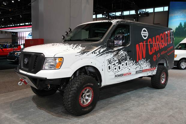 Nissan NV Cargo X Concept: Chicago Auto Show featured image large thumb0