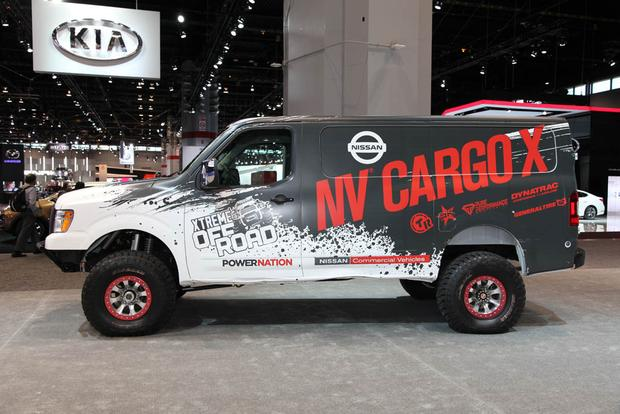 Nissan NV Cargo X Concept: Chicago Auto Show featured image large thumb2