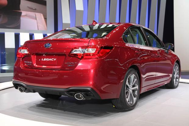 2018 Subaru Legacy: Chicago Auto Show featured image large thumb4