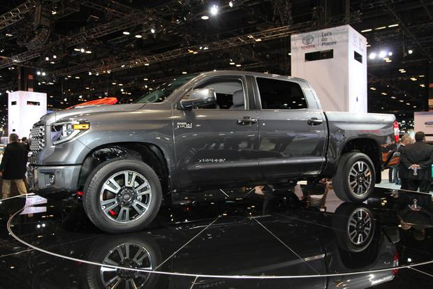 1dbd5ac960 2018 Toyota Tundra TRD Sport  Chicago Auto Show featured image large thumb0