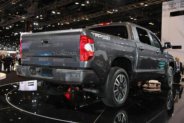2018 toyota tundra trd sport. beautiful trd 2018 toyota tundra trd sport chicago auto show featured image large thumb3 and toyota tundra trd sport t