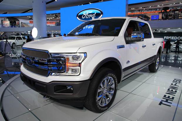 Ford F Detroit Auto Show Autotrader - Ford show car