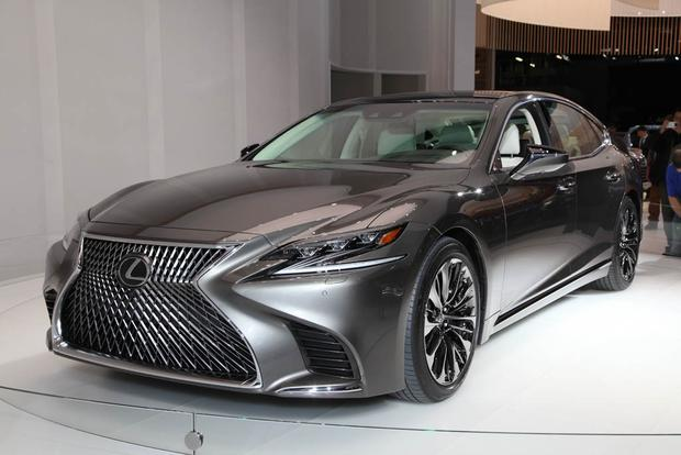 2018 Lexus LS: Detroit Auto Show featured image large thumb0
