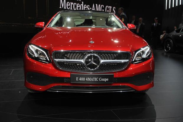 2018 Mercedes Benz E Class Coupe Detroit Auto Show Autotrader