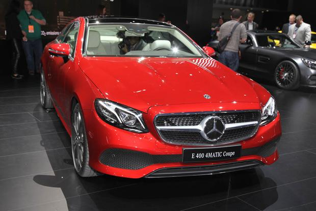 2018 Mercedes-Benz E-Class Coupe: Detroit Auto Show featured image large thumb1