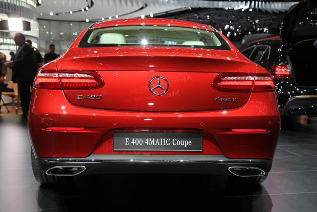 2018 Mercedes-Benz E-Class Coupe: Detroit Auto Show featured image large thumb3