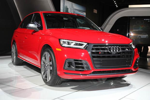 2018 Audi A5 Cabriolet, Q8 Concept and SQ5: Detroit Auto ...