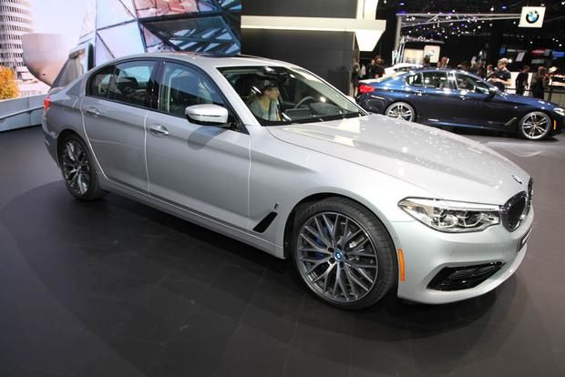 2017 BMW 5 Series: Detroit Auto Show featured image large thumb2