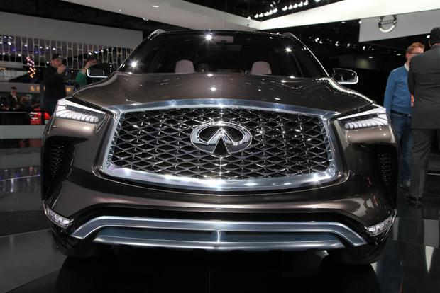 Infiniti QX50 Concept: Detroit Auto Show